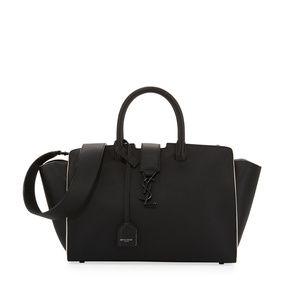 f99100094ccc22 Prada Black Saffiano Leather Camera Crossbody Bag Saint Laurent Monogram  Downtown Cabas Small Bag ...